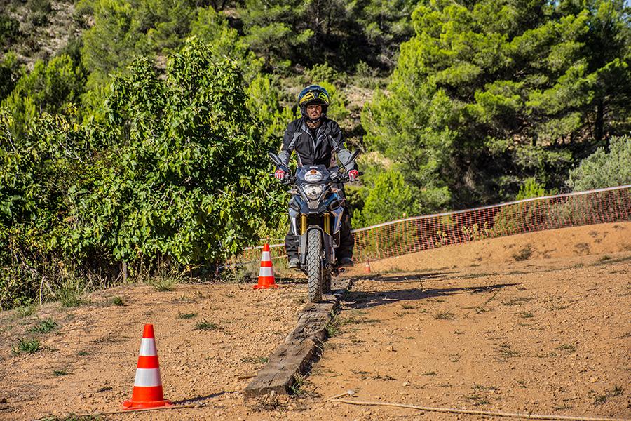 curso moto trail iniciación