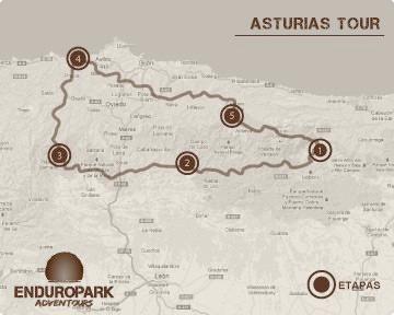 Asturias Tour - Escuela Moto Trail - Viajes Moto Trail - Enduro