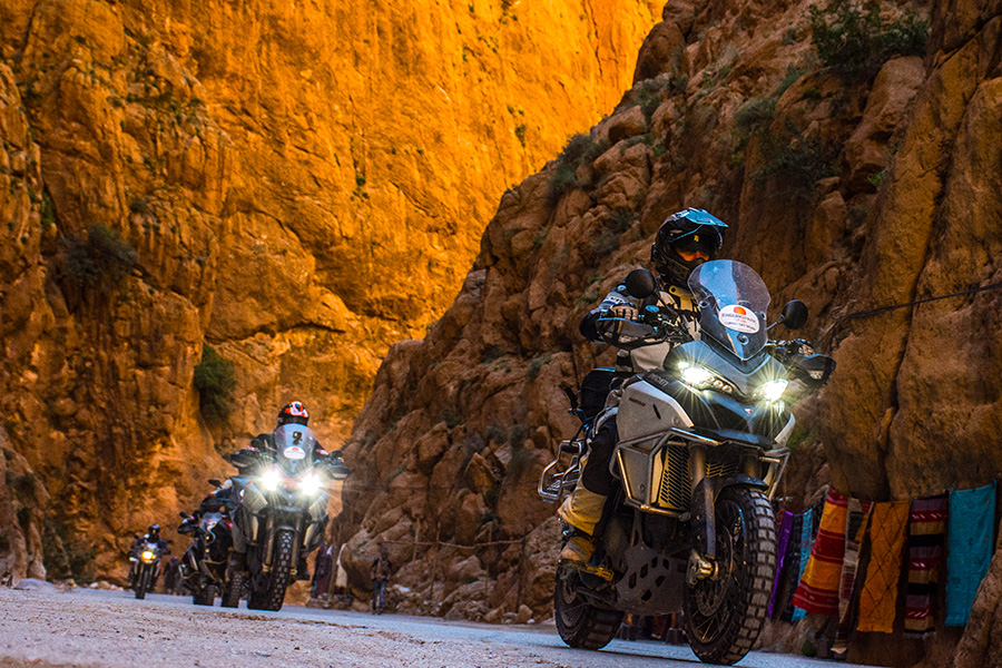 Viaje moto Marruecos trail aventura