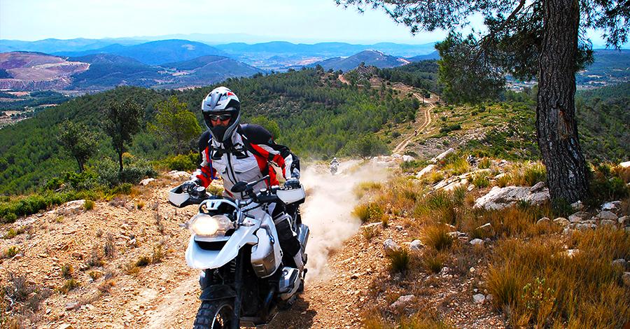 Viaje en Moto MaxiTrail - Tres Reinos - Viajes Moto Trail - Enduro